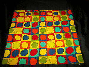 IKEA Lusy Kloss 26X26 Pillow Cover Geometric Circles Multi-Color Colorful