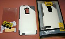 Otterbox Commuter Series Case  HTC One Max, White & Gray w PET screen