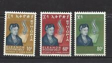 ETHIOPIA - 425 - 427 - MNH - 1964 - ELEANOR ROOSEVELT
