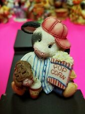 Mary Moo Moos Figurine - Take Me Out To The Bull Game