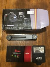 Vivitar Digital Slave Flash for Canon EOS Rebel T2 With Bracket.