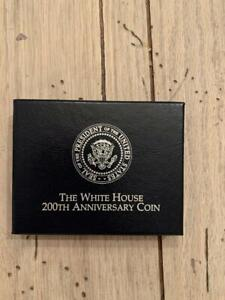 1992 US Mint Uncirculated White House 200th Anniversary Coin Set COA
