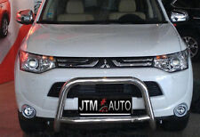 Mitsubishi Outlander ZJ Nudge Bar Stainless Steel Grille Guard 2013-2016