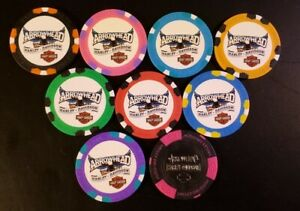 Harley Davidson Arrowhead Peoria AZ Poker Chip -See Details for Colors Available