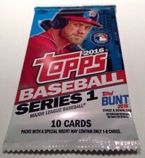 2016 Topps Series 1 Baseball HOBBY 10-card Pack Relic/Auto/Relics/Variations/SP?