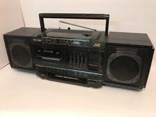 Vintage Jvc Boombox Ghettoblaster Am/Fm Pc-V55 Hyper Bass Equalizer Working