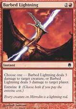 *MRM* EN 4x Eclair barbelé/Barbed Lightning MTG Darksteel