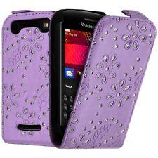 Housse Coque Etui de Protection Diamant Violet pour Blackberry Curve 9360