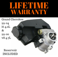New Power Steering Pump 20-61607 Fits 99-04 Grand Cherokee 4.0L & 99-00 4.7L