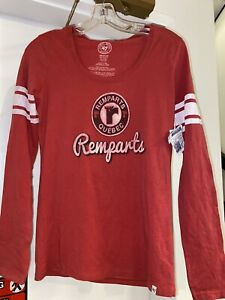 Rempart's Québec Women's  Crew Neck Long Sleeve Size Medium NWT 47 Brand