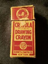 Vintage Rubens Crayola Drawing Crayons No. 24 Binney & Smith Co