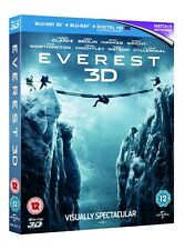 Everest (3D Edition + 2D Edition + Digital Copy - Triple Play) [Blu-ray]