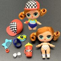 LOL Surprise Poupée Sk8er Grrrl Redhead Skater Makeover Séries HairGoals Jouet