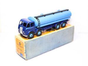 Dinky 504 Foden 14 Ton Tanker Blue In Its Original Box - Near Mint Vintage 1950s