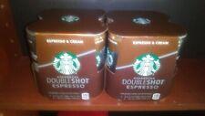 StarBucks DoubleShot Espresso & cream 6.5 oz cans