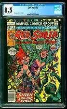 Red Sonja 6 CGC 8.5 VF+ Roy Thomas story Frank Thorne cover art Marvel 1977