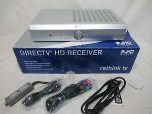 DirecTV HD Receiver H20-600 includes cables, manuals, original box