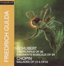 Friedrich Gulda-Schubert/Chopin: piano Works (CD nuevo!) 4035122404517