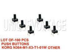 100 PCS-PUSH BUTTON KORG N364-N264-01W-01wfd-X2-X3-X5,X5d-T3 NEW