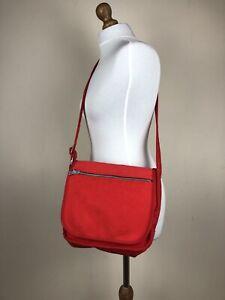 Marimekko Finland Women's Red Messenger Bag Small Cross Body