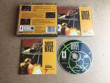 Shock wave - Panasonic 3DO (3DO) TESTED/WORKING UK PAL