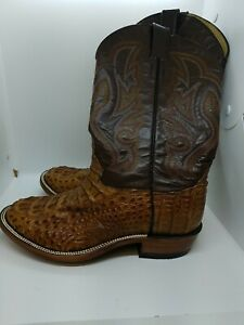 New Handmade Leather Cowboy Boots Mens Size 10