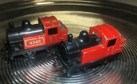 Matchbox Railway Lesney,2x Nr.43 Lok Rail Train / Eisenbahn Steam Loco 040