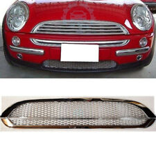 Chromed Front Grille Decorative Trim Fit For BMW Mini Cooper S R53 2001-2006