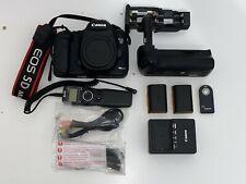 Canon EOS 5D Mark III 22.3MP Full Frame Digital SLR Camera Body Black
