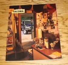 Original 2000 Toyota Tacoma Sales Brochure 00