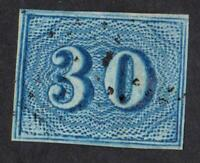 BRESIL - N°:20 -    - YEAR 1854 - USED-     CV : 70 €