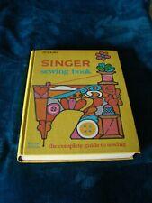 Vtg 1972 Golden Press Singer Sewing Book Revised Edition Complete Sewing Guide