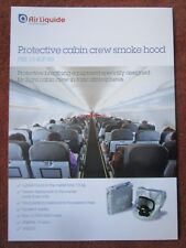 DOCUMENT PUB AIR LIQUIDE OXYGEN OXYGENE PROTECTIVE FLIGHT CABIN CREW SMOKE HOOD
