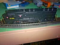 HO Vintage Athearn Pennsylvania SD 45 Locomotive Nice no 6192