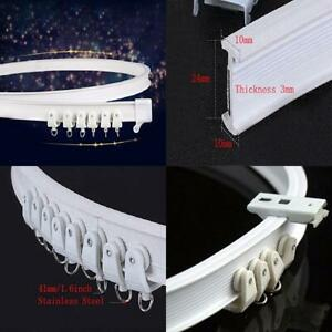 Aimyoo 3 Meters / 9.8 Feet Curved Curtain Track - Bendable Straight...