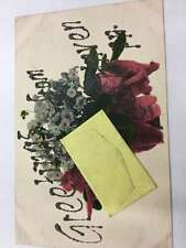 Lockhaven Pennsylvania Flower Bouquet Envelope Antique Postcard K57152