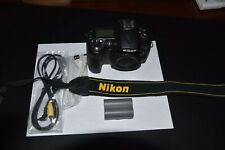 Nikon D90 12.3MP DSLR-Black, Body Only, Battery, Strap,Cables