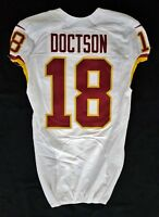 #18 Josh Doctson of Washington Redskins NFL Locker Room Game Issued Jersey