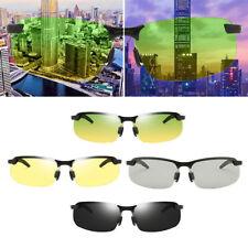 Gafas de sol polarizadas clásicas hombres mujeres conducción medio marco gafas