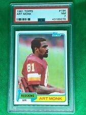 1981 Topps Art Monk #194 PSA 7