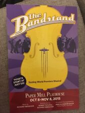 Rare Bandstand Pre-Broadway Musical Direct Mail Ad Paper Mill Playhouse