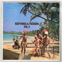 VARIOUS-heptones & friends volume 2    attack LP   (hear)   boss reggae