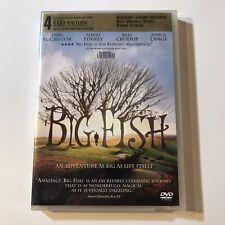 Big Fish (2004 Columbia Ws Dvd) Burton McGregor Crudup Finney Lange