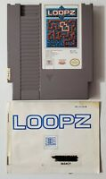 Nintendo NES Loopz with Manual, tested/works, see pics