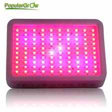 300W LED Grow Light Full Spectrum IR UV Panel For Hydroponic Grow Lighting