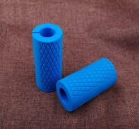 2Thick Bar Grips Turns Barbell, Dumbbell, and Kettlebell Fat Bar Training Mustle