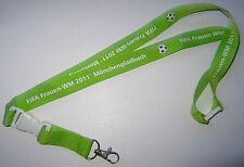 Fifa mujeres-WM 2011 Mönchengladbach llavero nuevo Lanyard (a48)