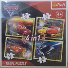 Disney Pixar Cars 3 ~ 4 In 1 Jigsaw Puzzle ~ 35, 48, 54, 70 Pieces ~ Trefl