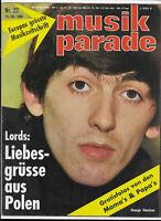 Musik Parade Nr.22 vom 24.10.1966 Troggs, Lords, Sylvie Vartan, Cliff Richard...