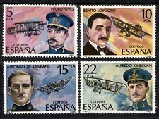 Spanish Stamps - 1980 Aviation Pioneers In MNH Condition